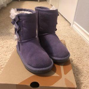Koolaburra by UGG Purple Boots Sz 8